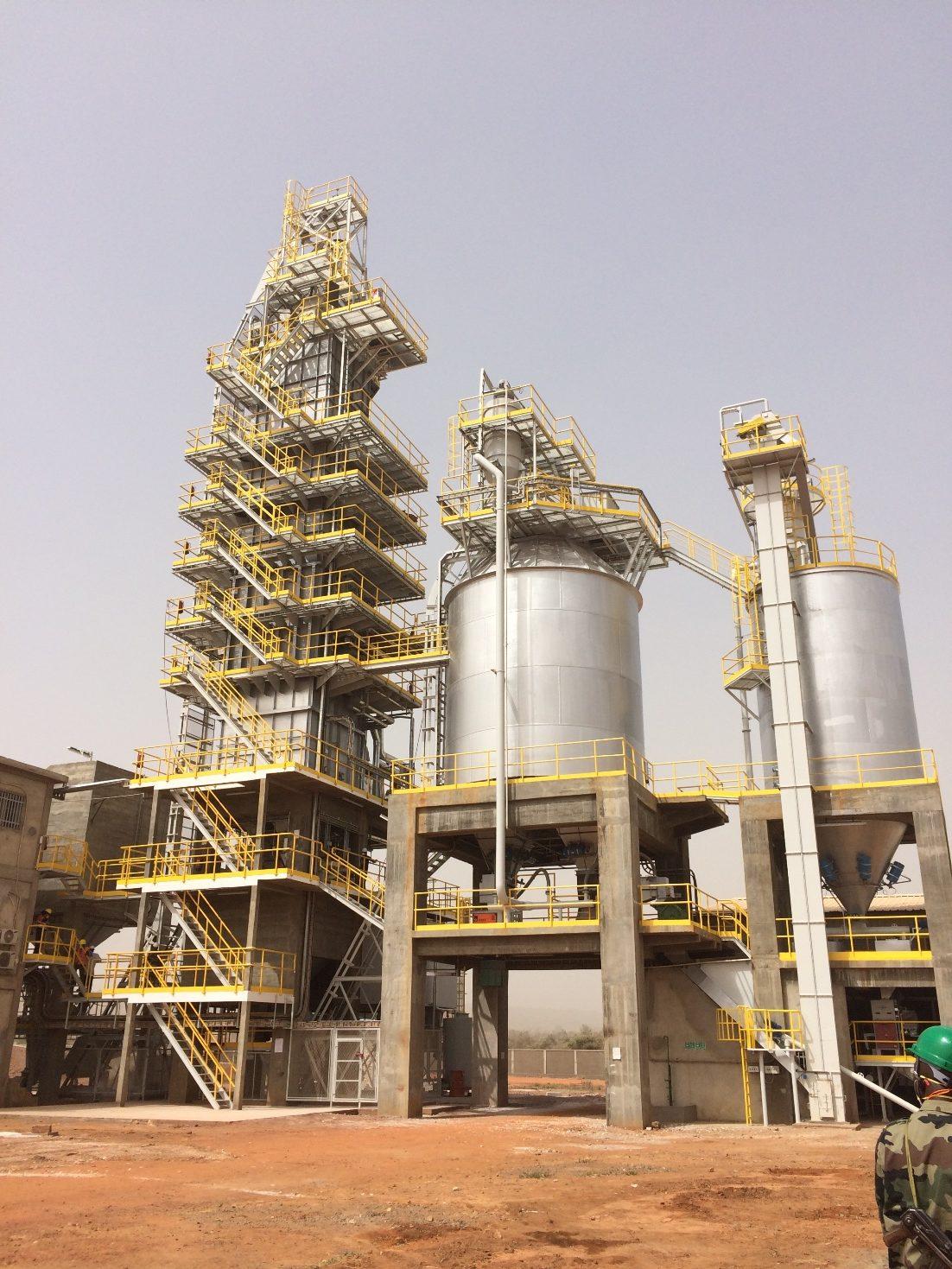 Mali industrial processing