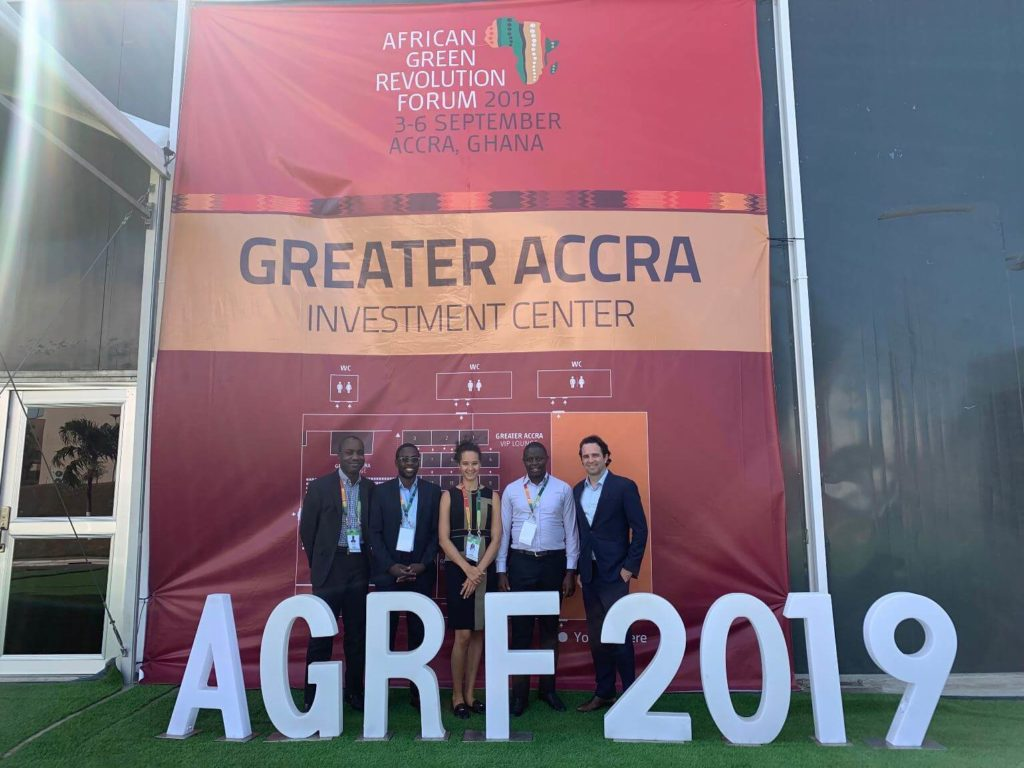 CrossBoundary facilitated the Agribusiness Deal Room at the 2019 AGRF conference