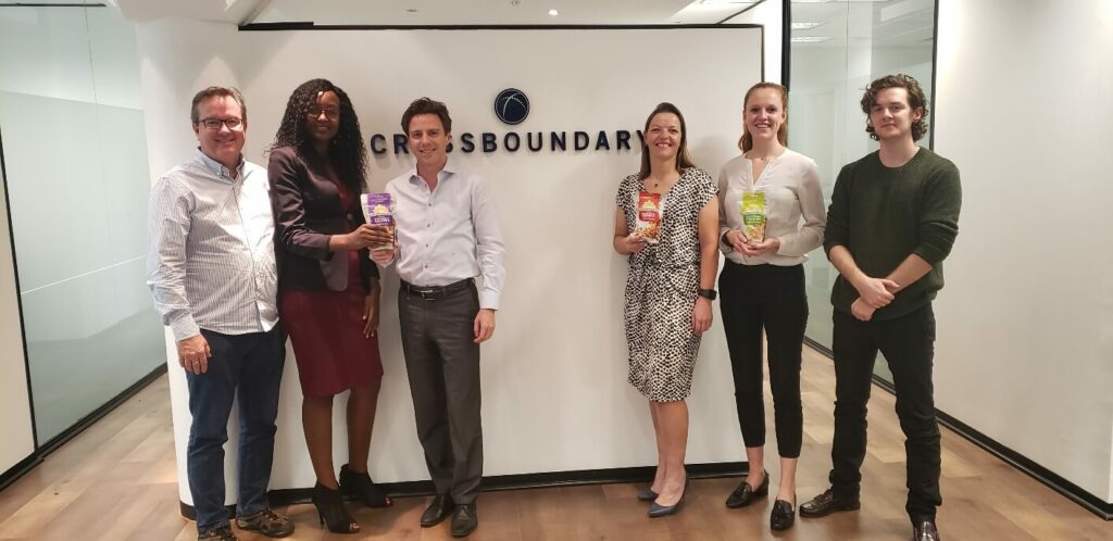 CrossBoundary hosts Sunshine Nut Company at the Johannesburg offices