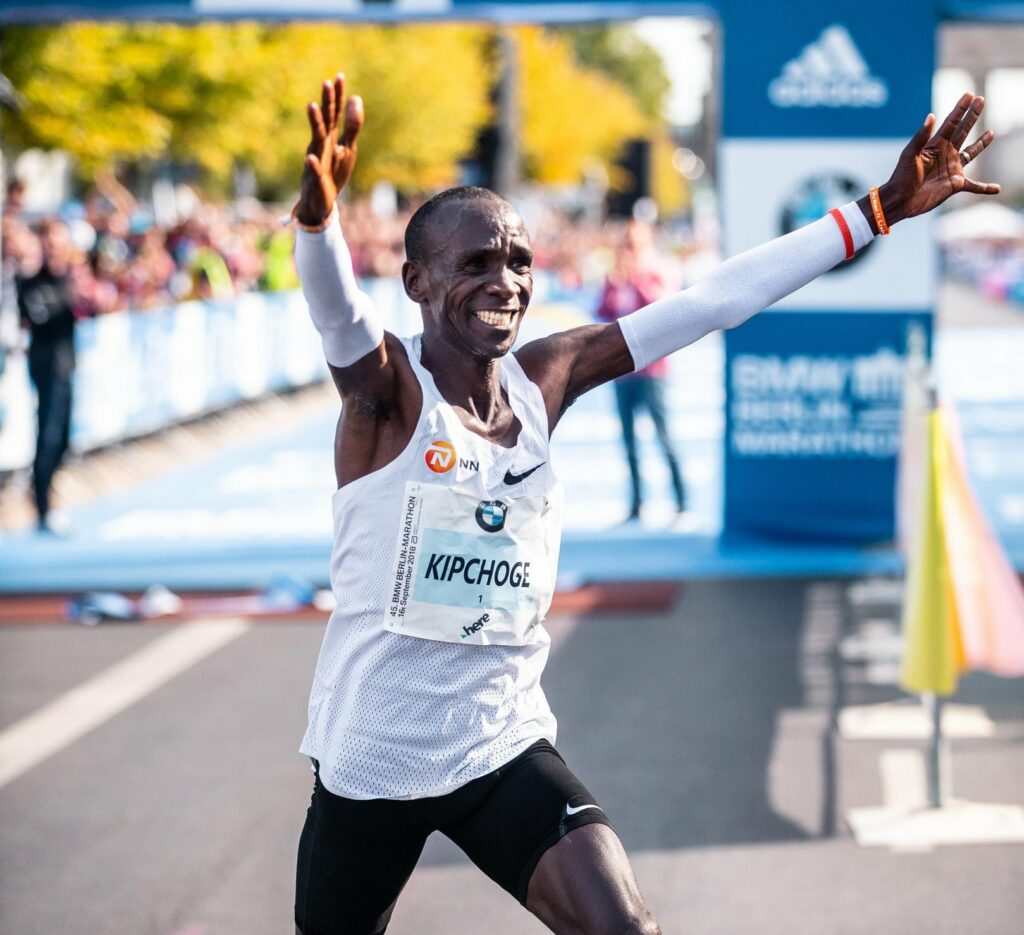 Eliud Kipchoge shares his life lessons with CrossBoundary