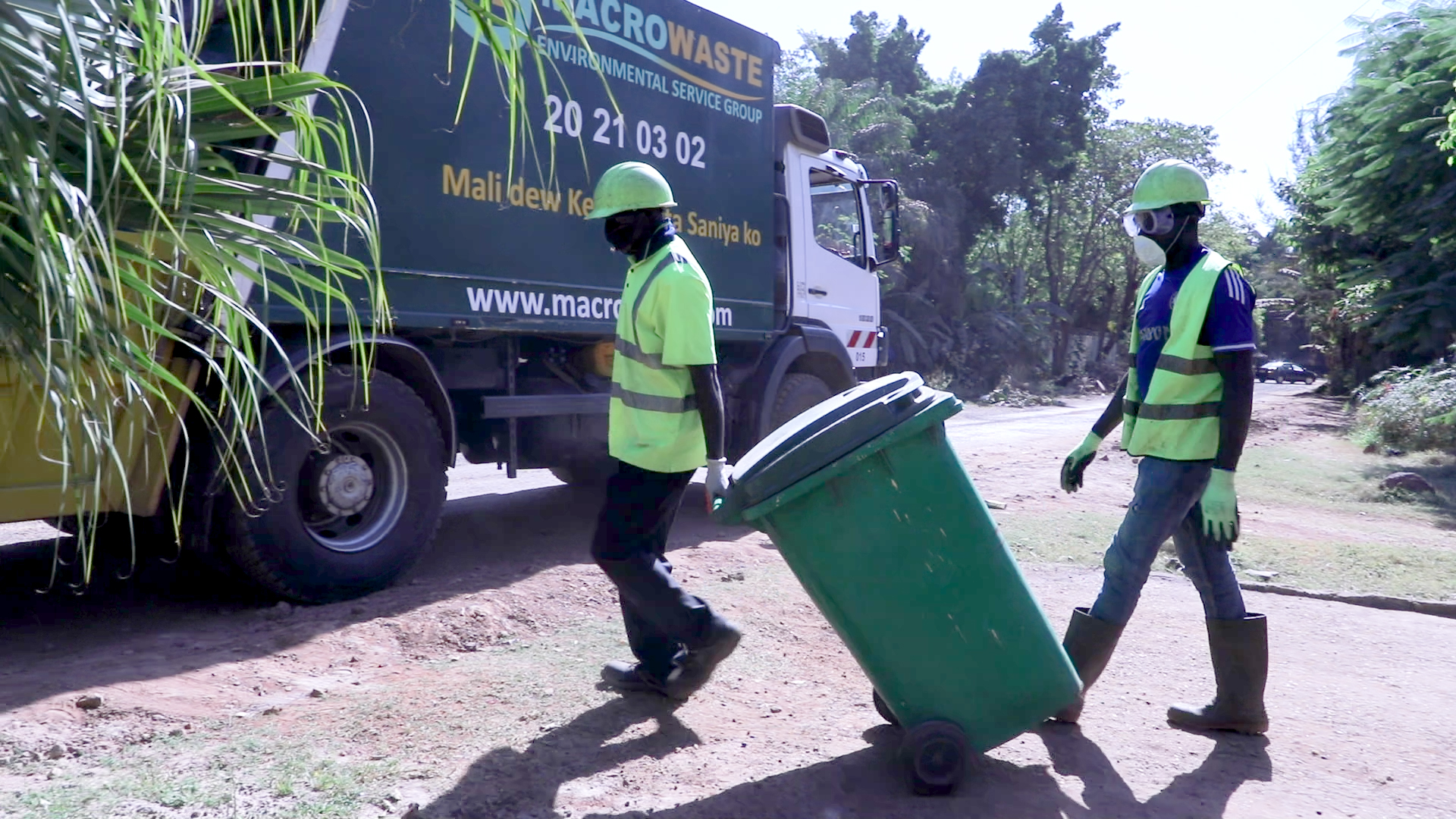 Investing in waste management